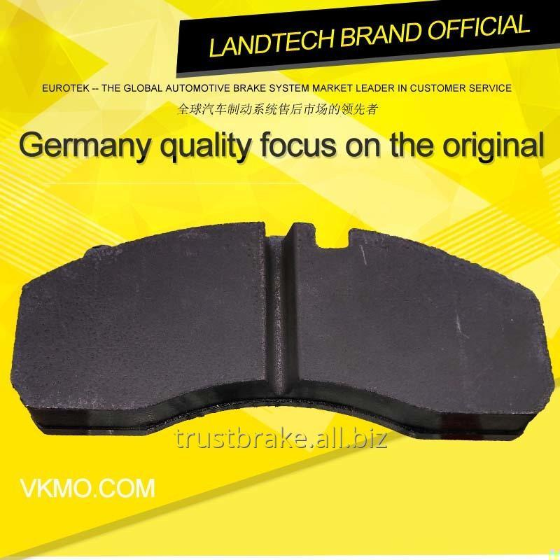 Truck spare part rotor disc Brake pad WVA 29087,29202,29278,29253