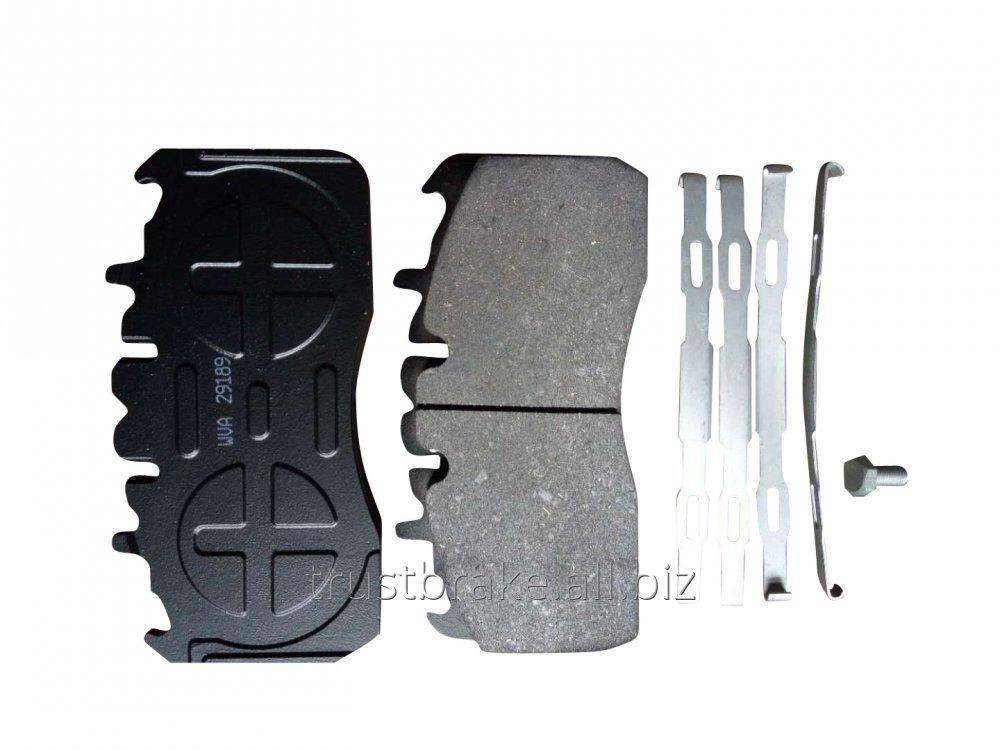 Buy Steer axle Good brake pad wva 29189/D1370-8480