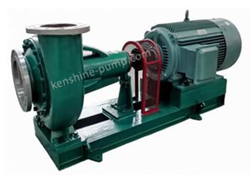 Buy FBK Chemical resistant centrifugal slurry pump with semi open impeller