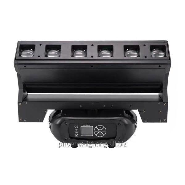 Comprar Luz do DJ, efeito conduzido, luz principal movente de 4 cabeças