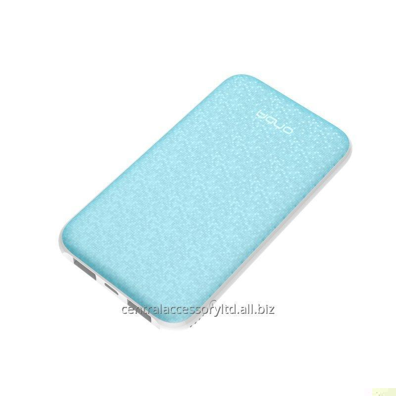 Buy N50T 5000mAh Portable Power Chargers cell phone battery pack charger mosaic processing high-end fashion