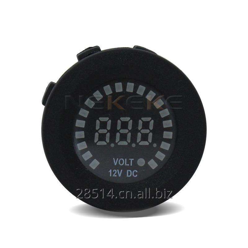 Waterproof Universal 12V 24V Car Van Boat Marine LED Digital Voltmeter
