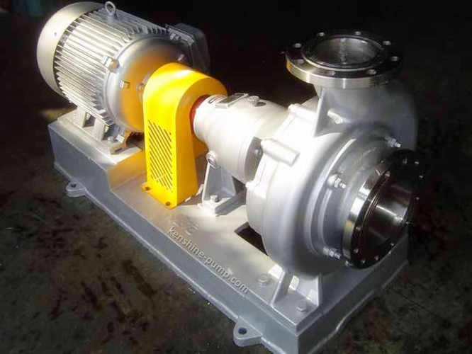Buy CPN Chemical alkali liquids centrifugal transfer pump with open impeller