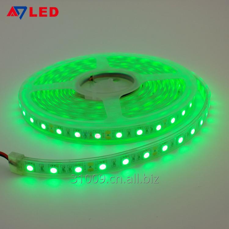 Buy Wholesale good price high quality 60led/m 12v 24v smd 5050 green color IP67 flexible led strip
