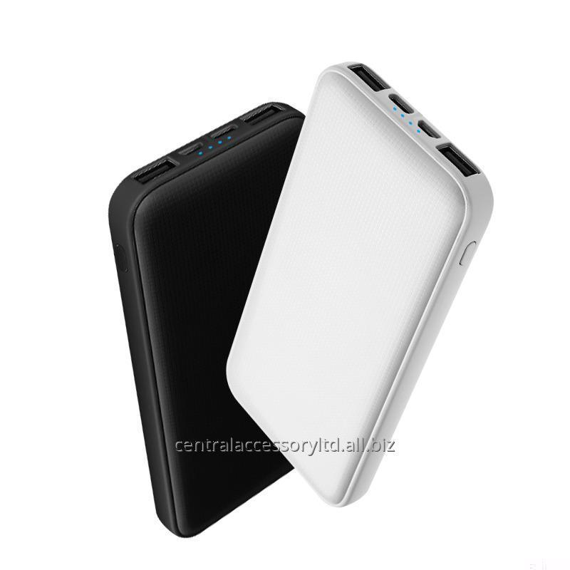 Купить M7100 10000mAh Быстрые зарядки портативного зарядного устройства экспортер зарядного устройство Power Bank LED дисплей Micro USB / Type-C Dual Input
