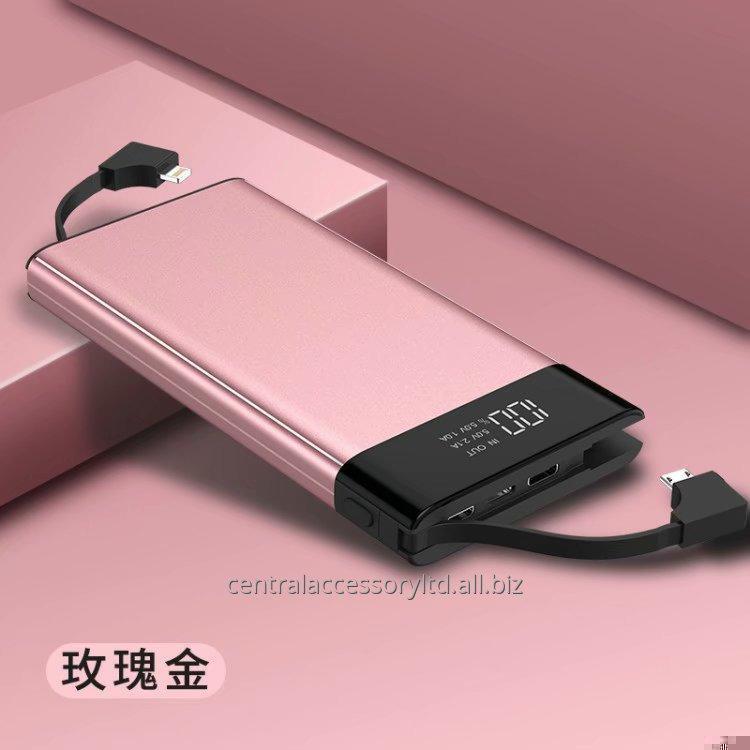 Купить P041D 10000mAh Quick Charge Мгновенное зарядное устройство Поставщик банк Portable Power LED цифровой дисплей Металлическая конструкция