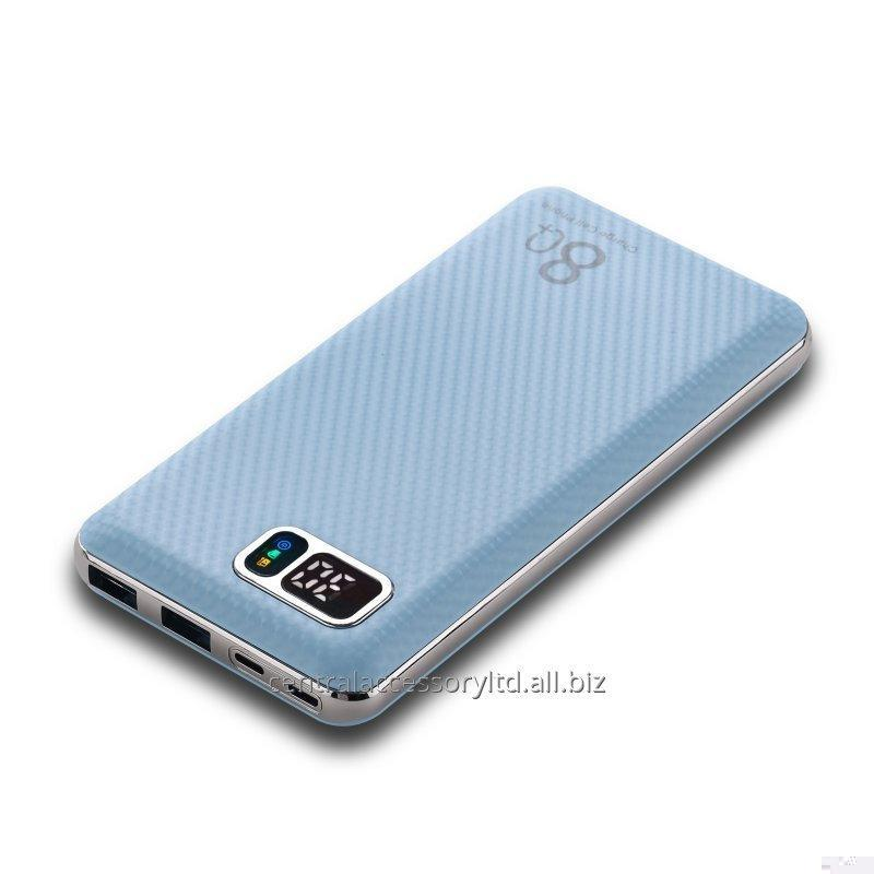 Buy P042D 16000mAh Fast Charge Power Station Mobile Battery Charger Suppliers LCD digital display support Micro USB /Lightning Dual Input