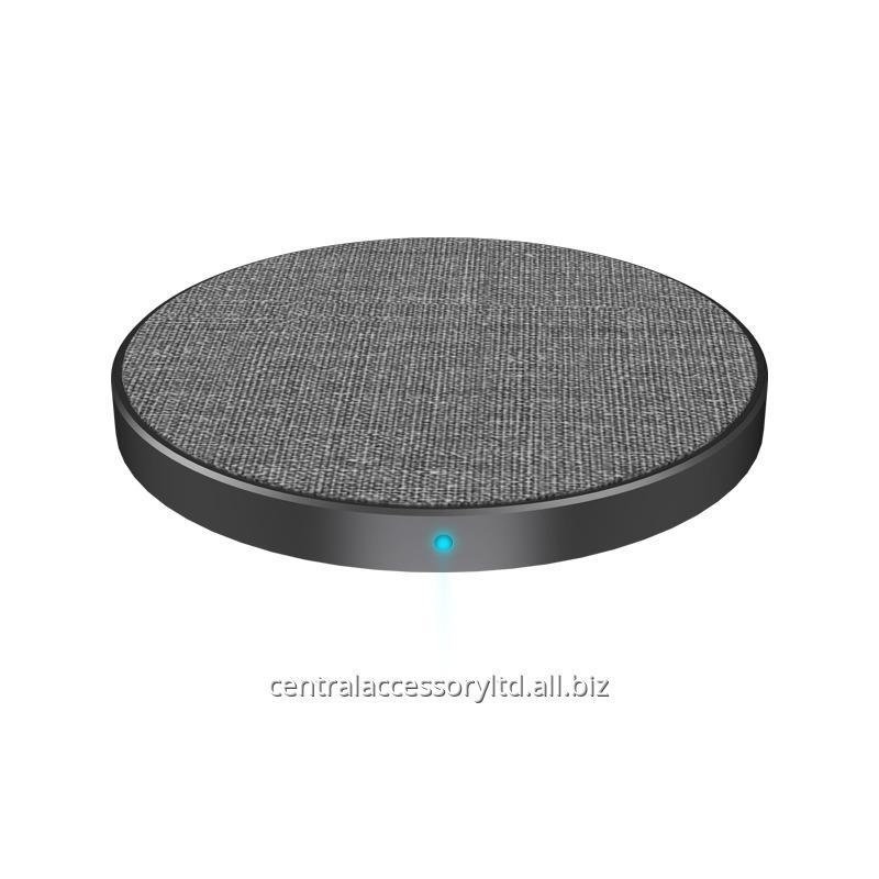 Buy MC-30 10W charging pad Wholesaler samsung cordless charger Mat High quality fabric material over voltage protection For Cell phone
