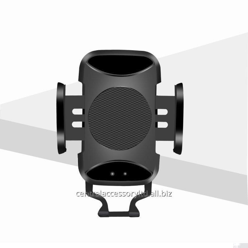 Buy C7 Wireless Car Charger pad iphone car mount charger Manufacturer Infrared Auto-Sensing design Support 7.5W/10W Fast Charge