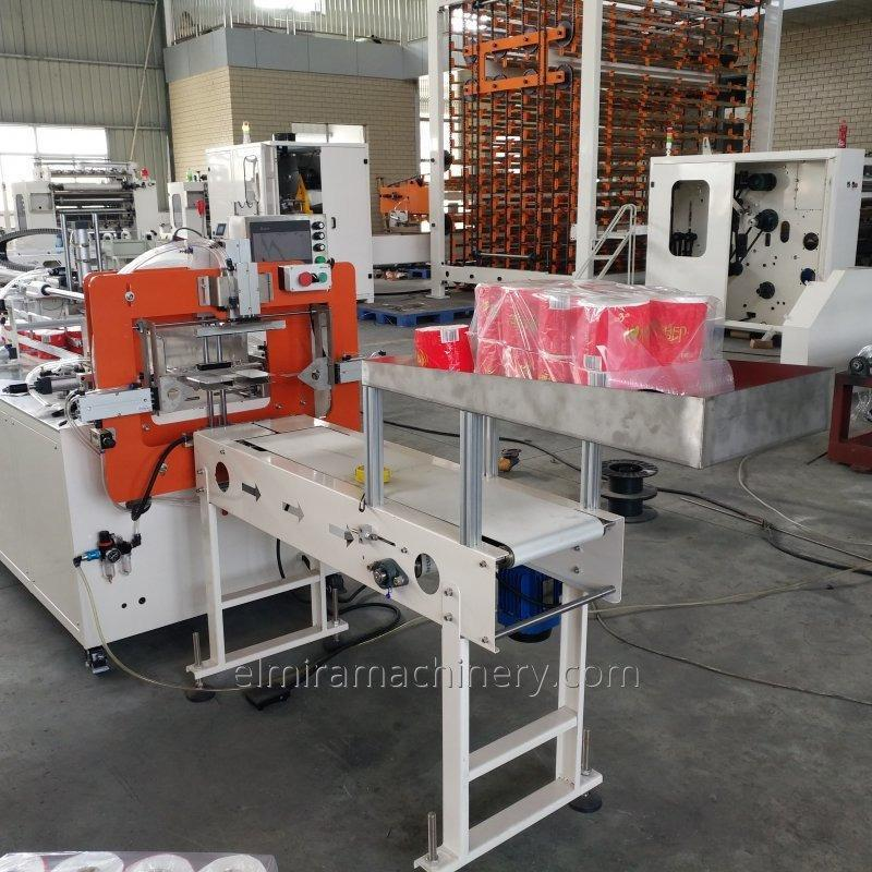 Toilet paper packaging equipment