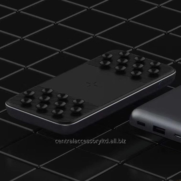 Qi100 10000mAh беспроводного быстрой зарядки банка силы портативной резервная й зарядное Оптовик Поддержка Micro USB / TYPE-C / вход Lightning