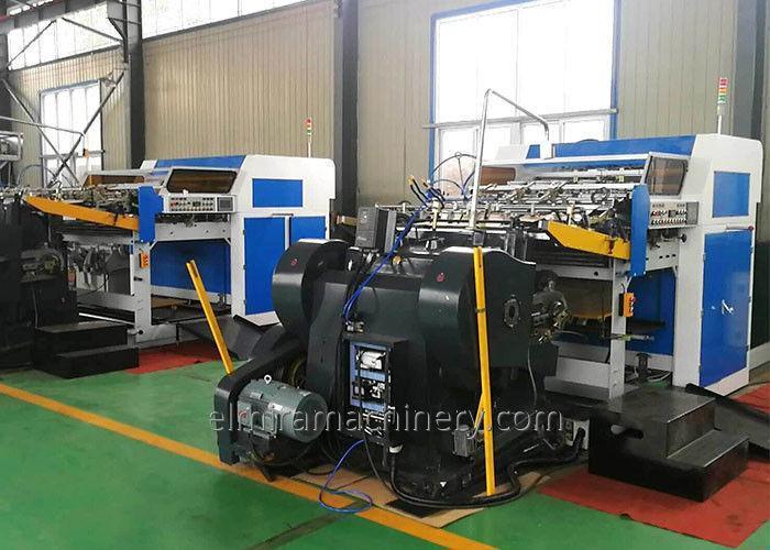 Auto feed die cutting creasing machine