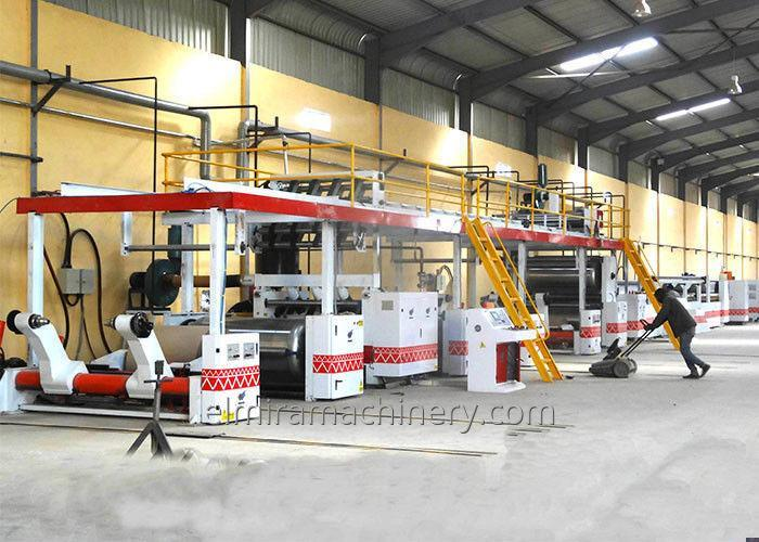 Corrugated cardboard production line 3/5/7 ply