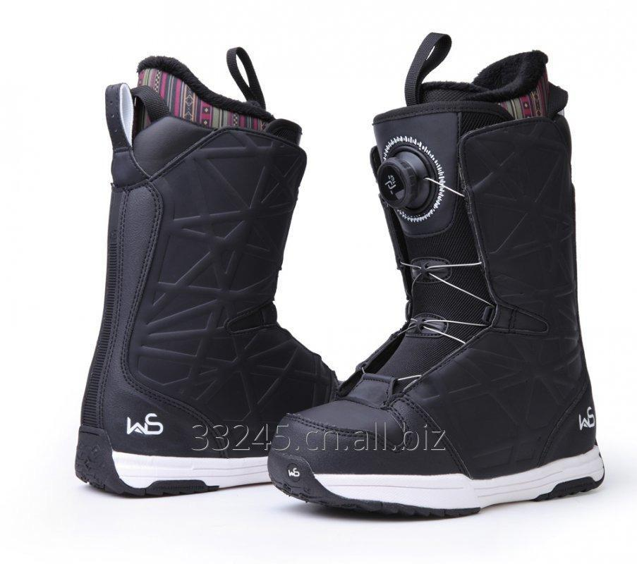 High end high pressure ski shoes BOA wire ski shoes