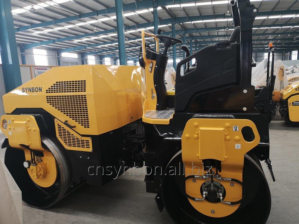 Buy  SYNBON double drum vibratory roller SY204H