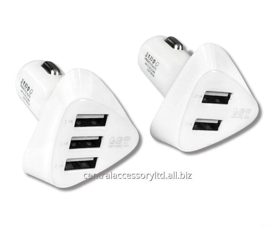 815 4.2A Dual USB iphone 7 car charger Handset Car Charger Supplier for Mobile phone and Tablets