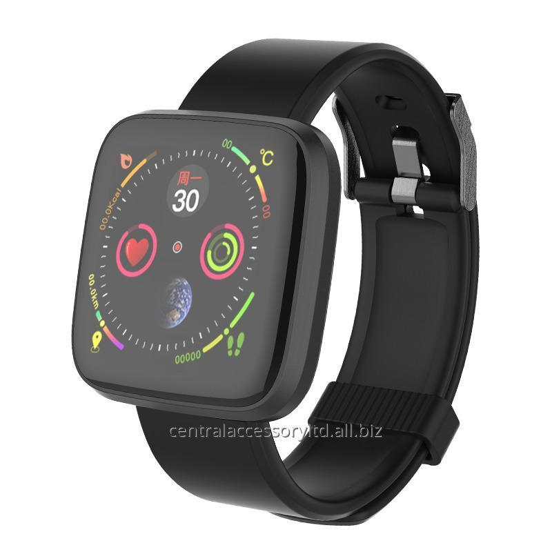 Buy TLWT8 smart bluetooth bracelet Manufacturer smartwatch for iphone Continuously heart rate monitoring Alipay online
