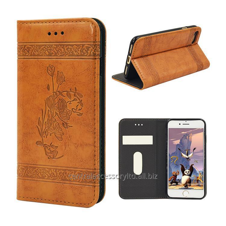 Купить M6-002 Samsung Кожаный чехол Экспортер Магнитная крышка Постоянная функция для Samsung, Iphone, Alcatel, XiaoMi, Nokia ……