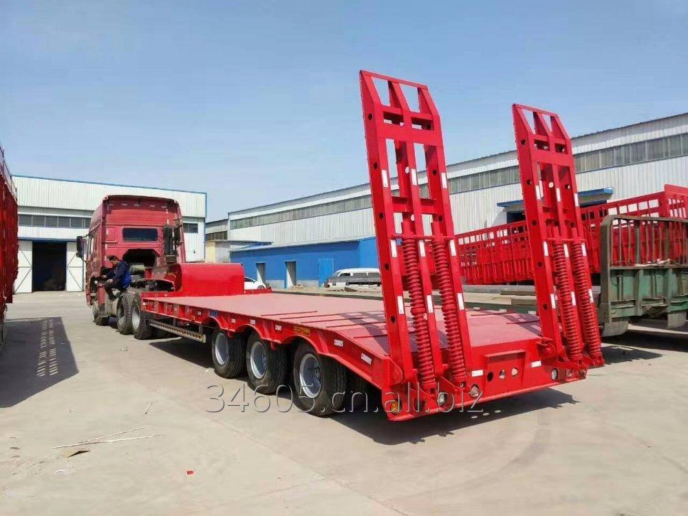 Buy 3 axles 4 axles 40T 60T 80T 100T 120T low boy low bed semitrailer