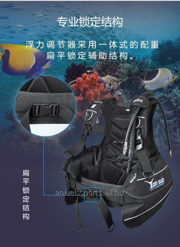 Buy Diving supplies Professional diving BCD buoyancy regulator inflatable buoyancy vest deep diving equipment