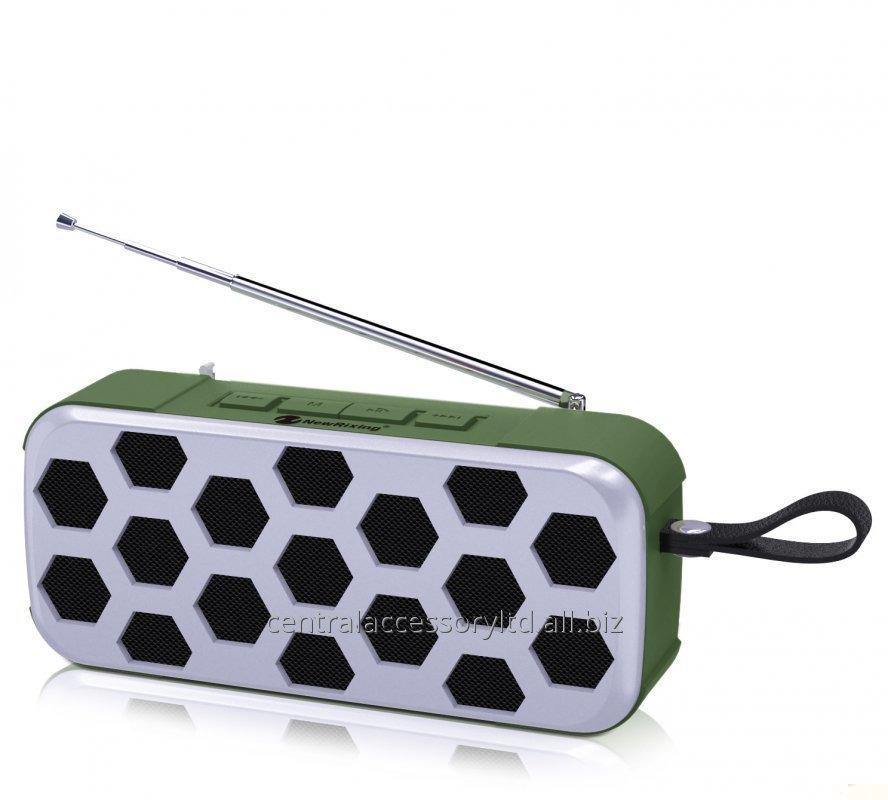 Buy NR-3019FM Small Outdoor Speaker Portable Wireless Speakers Supplier High cost performance Rubber oil shell