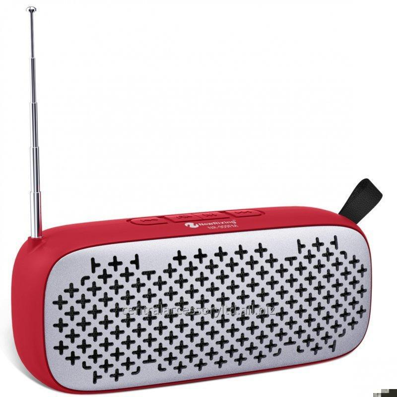 Buy NR-909FM Multimedia Speakers Small Mobile Speaker Wholesaler Rubber oil surface nice hand-feeling
