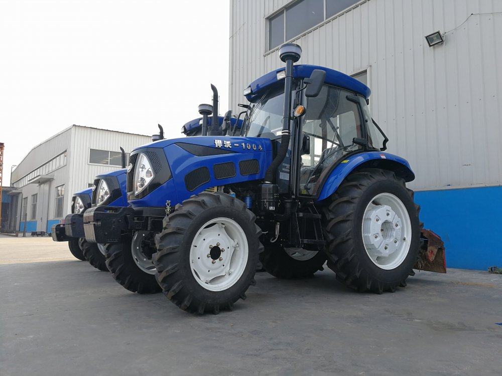 Buy Chinese Agricultural equipment / Cheap farm mini tractor 4wd 100HP Tractor