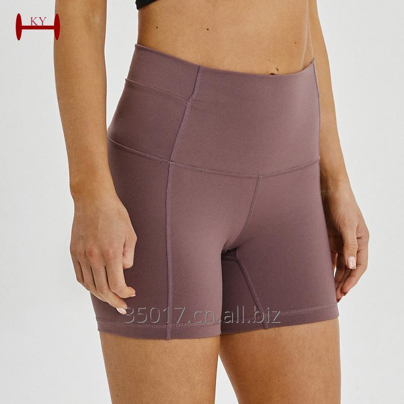 Buy [Copy] Wholesale Custom Logo Women Quality yoga legging nylon lycra yoga clothing manufacturer