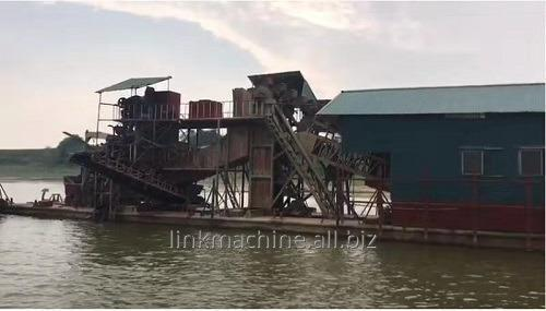 Buy Bucket Sand and Gold mining Dredging Ship