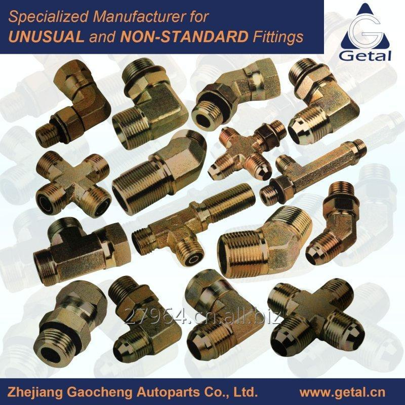 Buy Stainless Steel, Steel Hydraulic Tube, Pipe Fittings to SAE, BS, DIN and UN