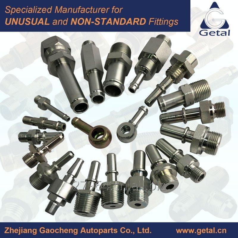 Buy Stainless Steel, Steel, Brass Beaded-Threaded Pipe Fittings