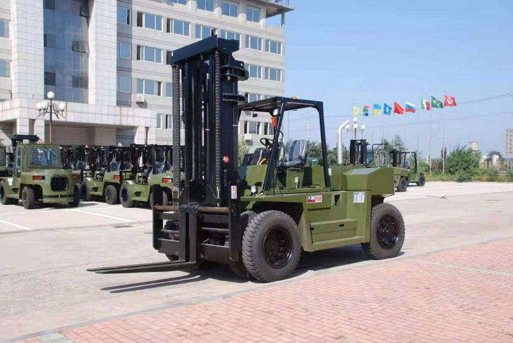 Buy All Customized Forklift 6 ton/7ton/8 ton/12 ton Full Electric Pallet Forklift with Four Big