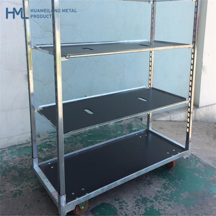 Comprar FT-1 flor carro metal almacenamiento jaula del rodillo