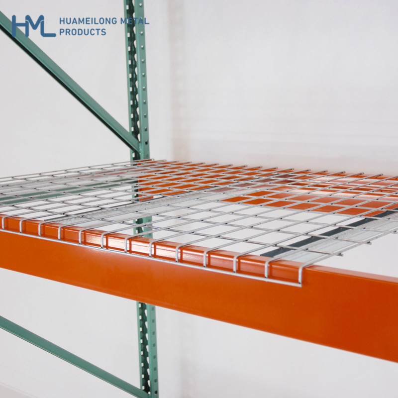 Buy W880*1100D Heavy duty welded durable wire mesh decking panel for rack