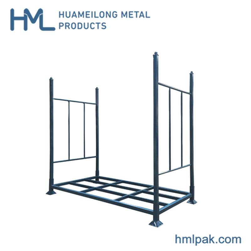 Купить M-1 Складской оцинкованный стекируемый поддон металлический стеллаж