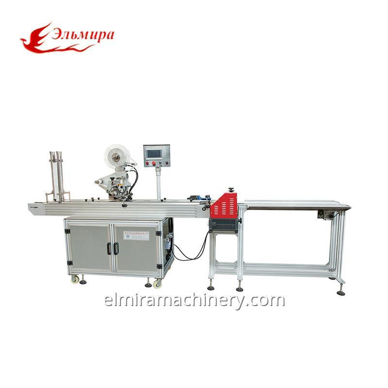 Semi-Automatic Gluing Plastic Lid & Labeling Machine