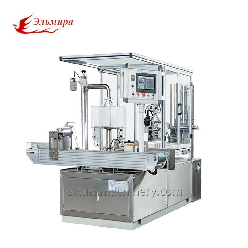 Rotary Type Automatic Plastic Lid Machine