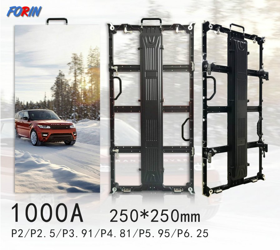Rental led screen P2  P2.5 P3.91 P4.81 P5.95 P6.25 250mm*250mm