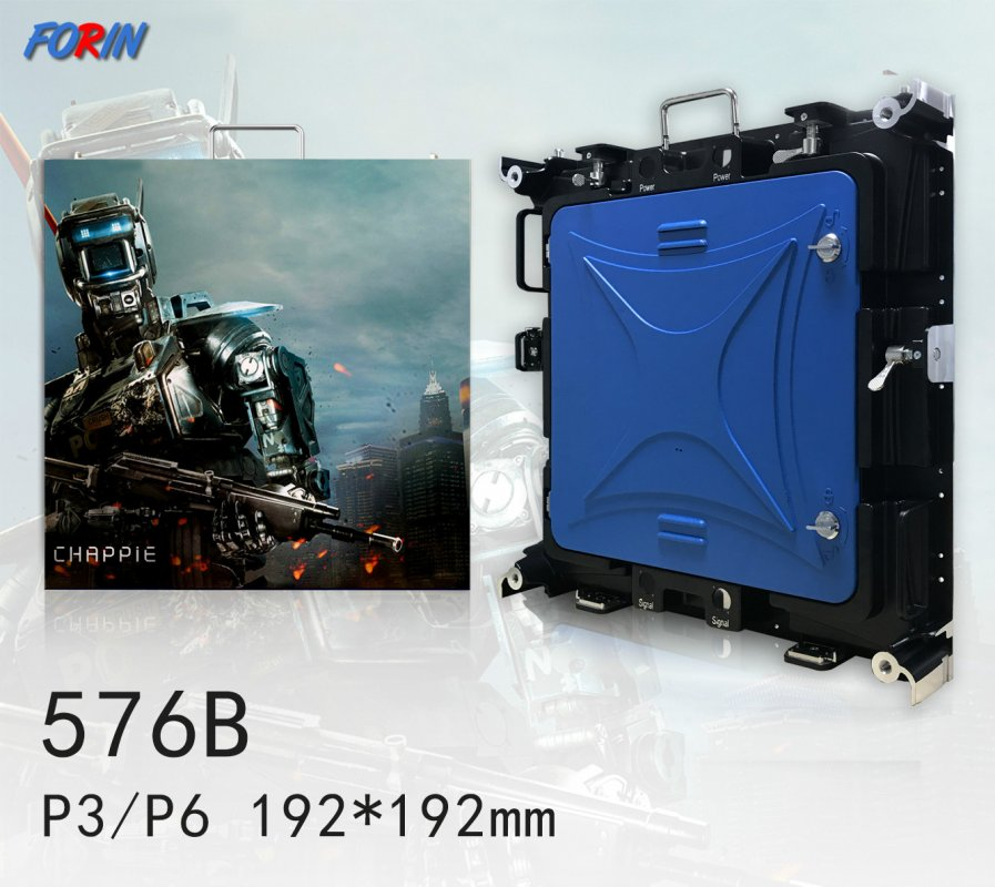Rental led screen P3,P6  192mm*192mm