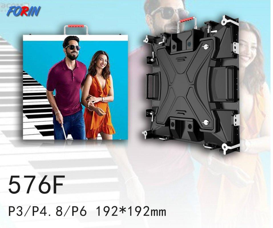 Rental led screen P3,P4.8,P6 192*192mm
