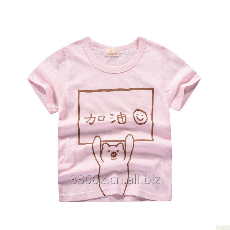 Buy Children's short sleeve cotton T-shirt