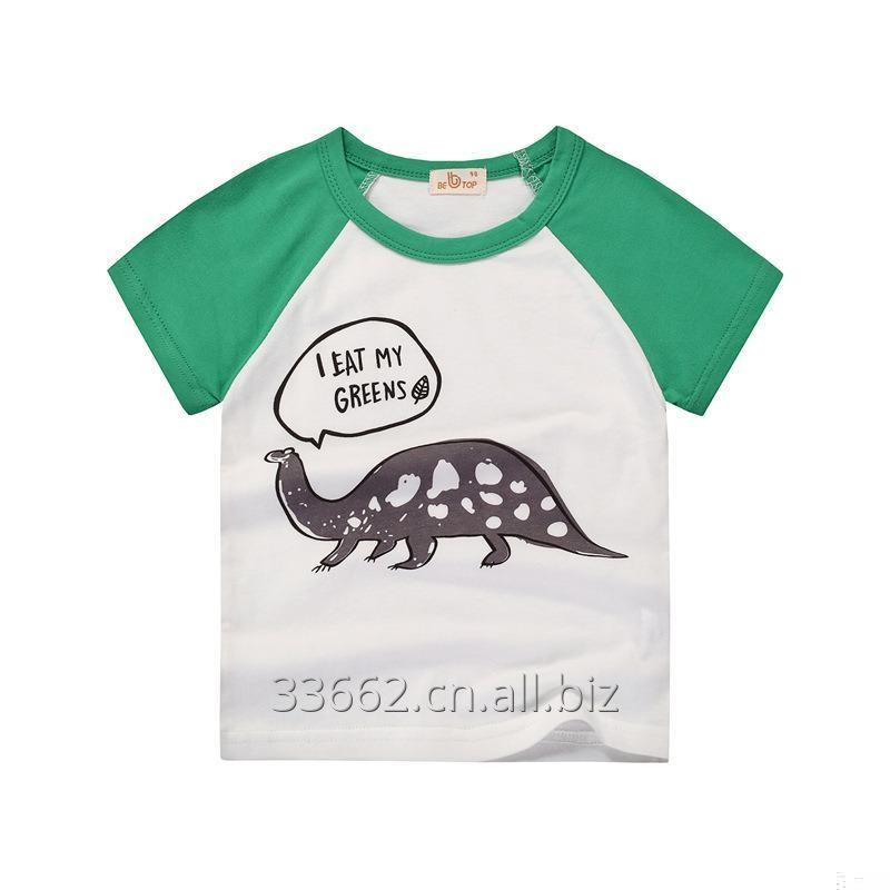Buy Children's short sleeve cotton T-shirt