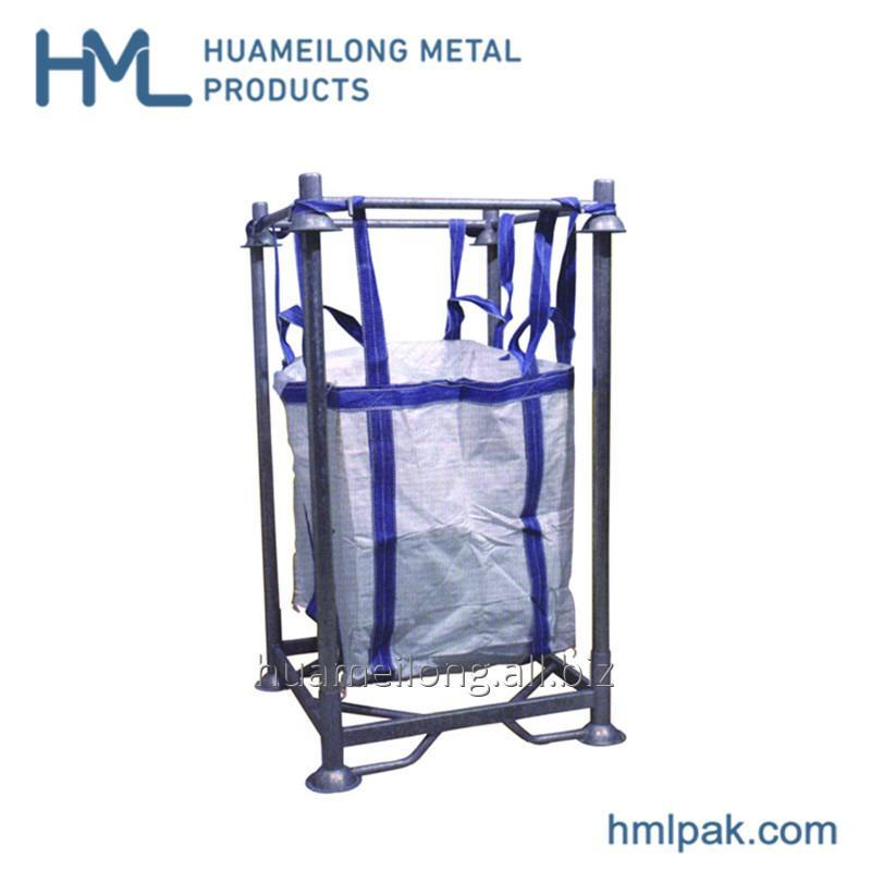 Buy HML-M6 High quality commercial iron metal big bag double manurack racking
