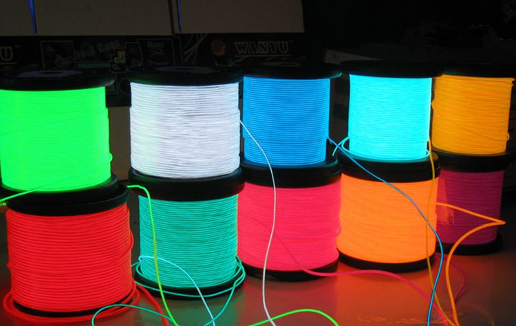 EL wire electroluminescent (cold neon) holodny neon, flexible neon