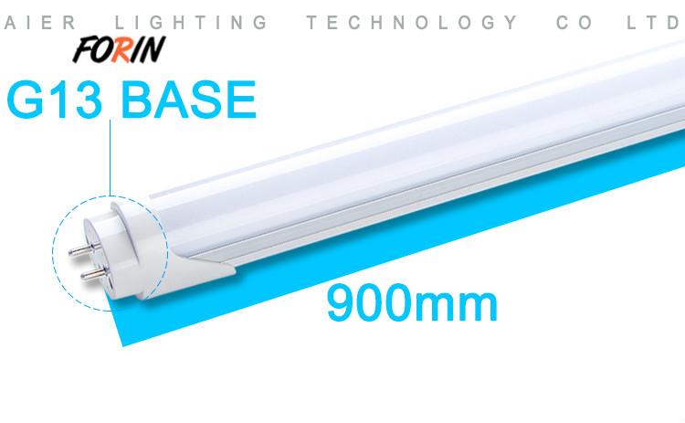 T8 led tube light fluorescent 9W,13W,18W,22W,28W
