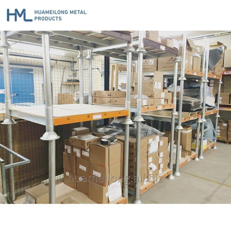 Buy Customised warehouse cargo storage post pallet converter with demountable legs
