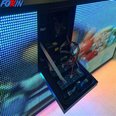 Led screen with face service