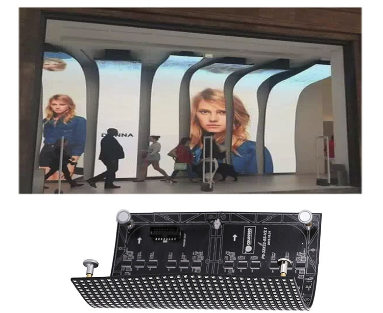 Flexible LED Screen P4