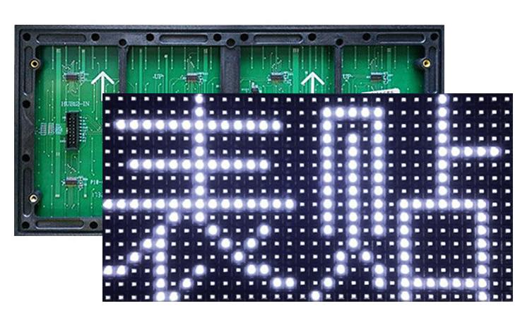 Outdoor led module  white  320х160mm P10