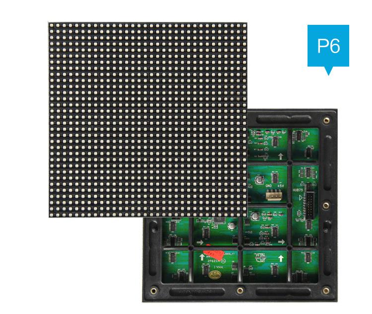 LED мodule street SMD RGB P6 192mm×192mm